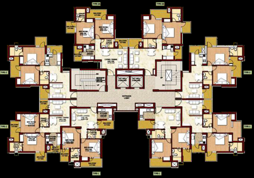 2 BHK apartments in Noida
